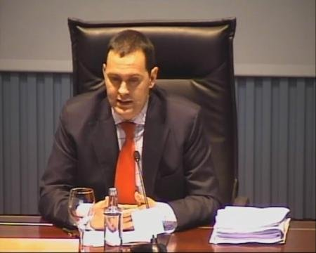 Santiago Valencia Vila, xefe do Gabinete de Asuntos Constitucionais da Asesoría Xurídica Xeral da Xunta de Galicia - Xornada sobre a Protección da Legalidade Urbanística